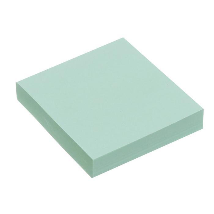 Блок с липким краем 51мм*51мм 100л пастель зеленый