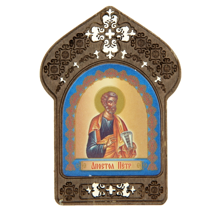"""Именная икона """"Апостол Петр"""", покровительствует Петрам"""