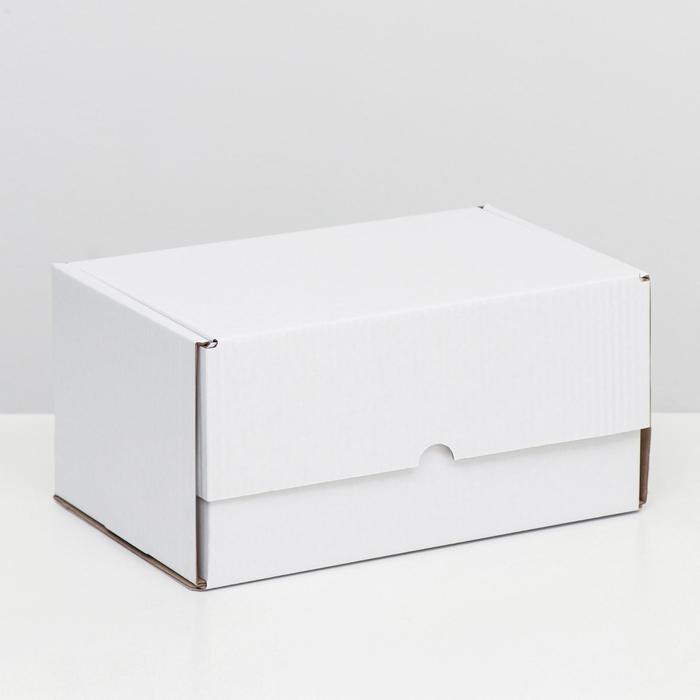 """Коробка самосборная """"Почтовая"""", белая, 30 х 20 х 15 см,"""