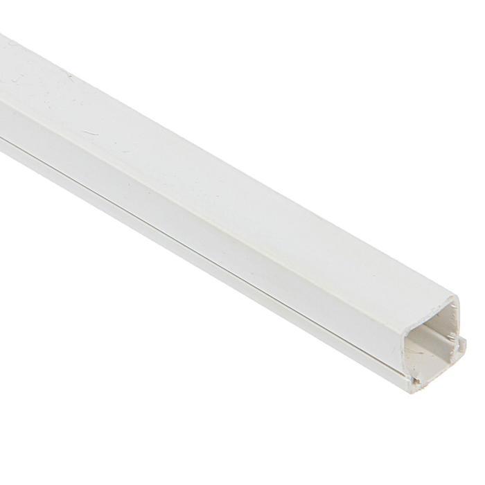 Кабель-канал EKF Basic, 2 м, 12х12 мм, белый