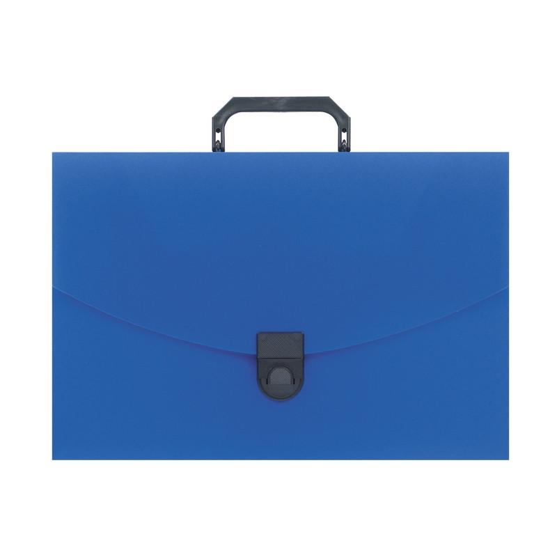 Папка-портфель пласт. ATTACHE A4/06 30мм синий