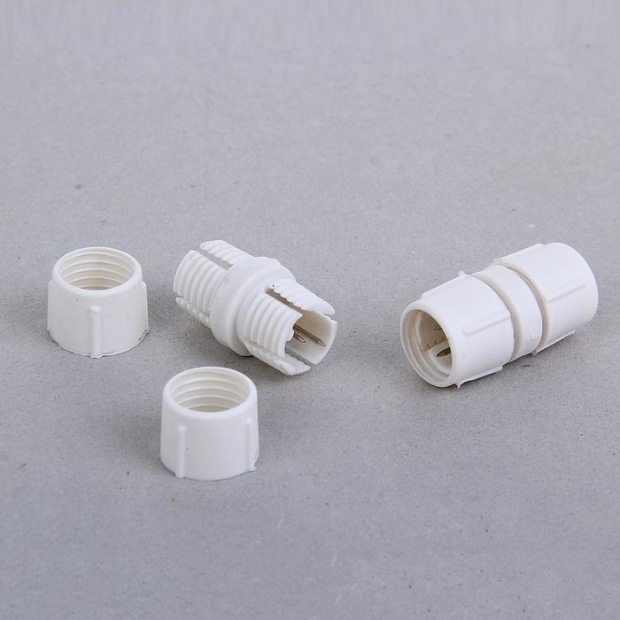 Коннектор для дюралайта 13 мм, 2W, прямой