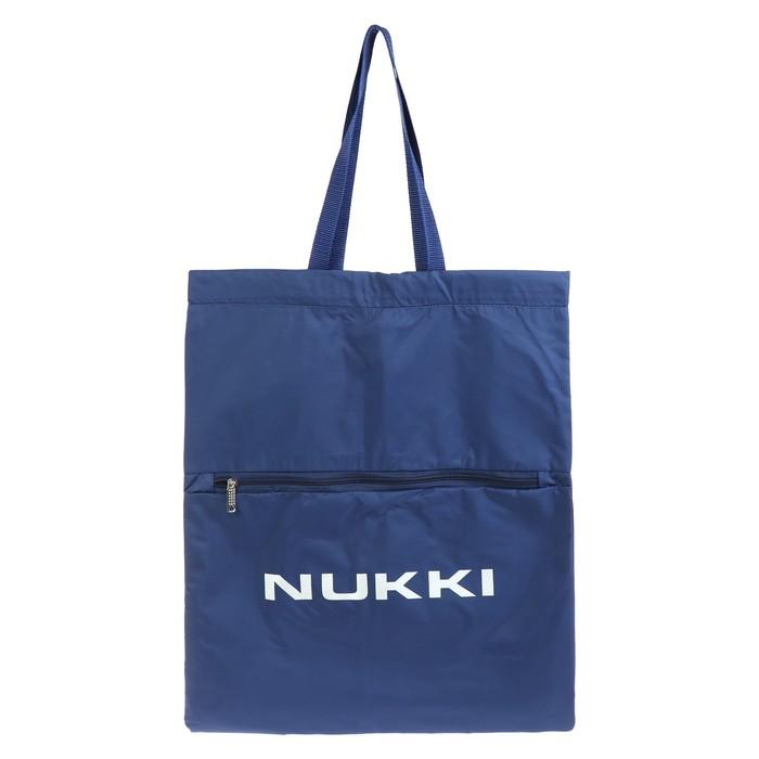 Сумка-рюкзак Nukki №63 51*41 см, синий