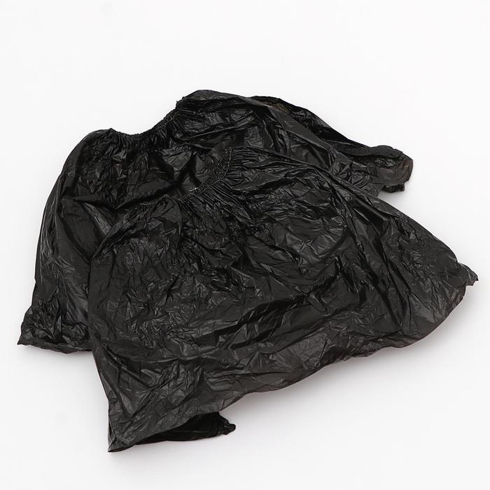 """Бахилы UNITE """"Черные"""" 2,5 гр,  уп 50 пар"""