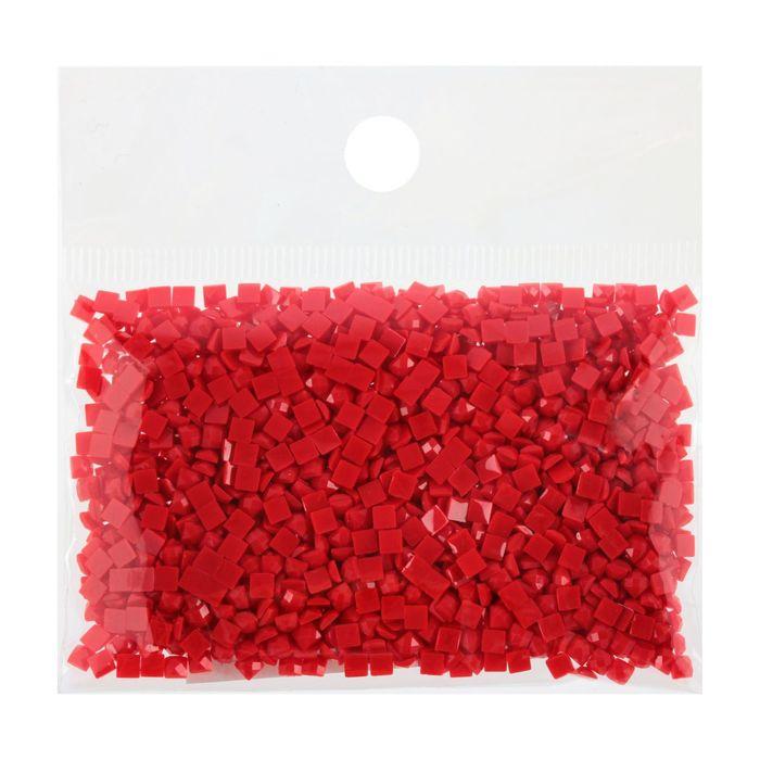 Стразы для алмазной вышивки, 10 гр, не клеевые, квадратные 2,5*2,5мм 817 Coral VY DK