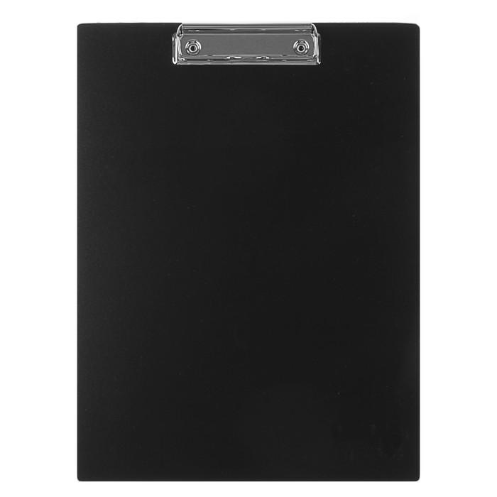 Планшет с зажимом А4, пластиковый 1.5 мм, Calligrata, чёрный