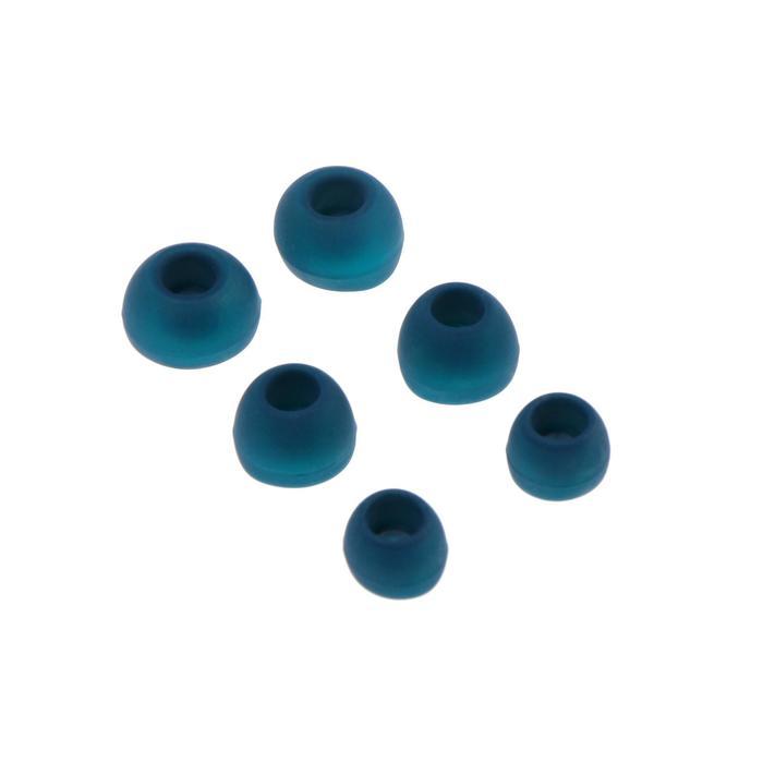 Комплект амбушюр Krutoff, для наушников, 3 пары, размер S, M, L, синие