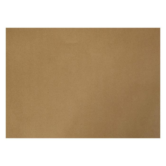 Крафт-бумага, 300 х 420 мм, 120 г/м?, коричневая