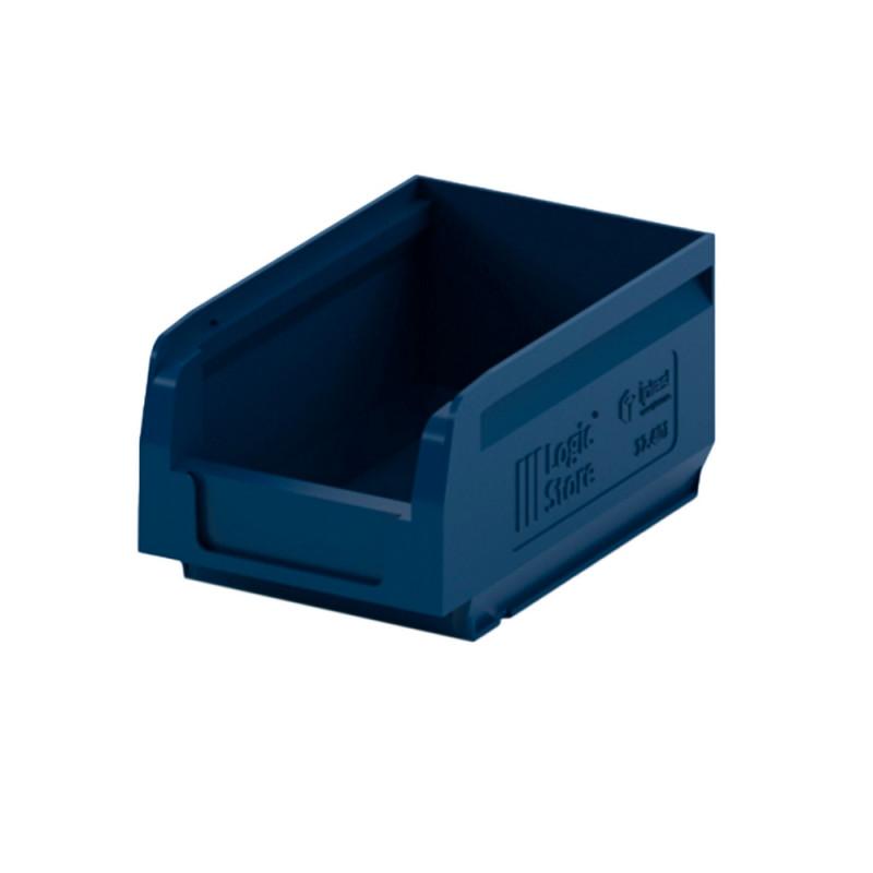 Лоток для склада logic store 165х100х75 синий (12.401)