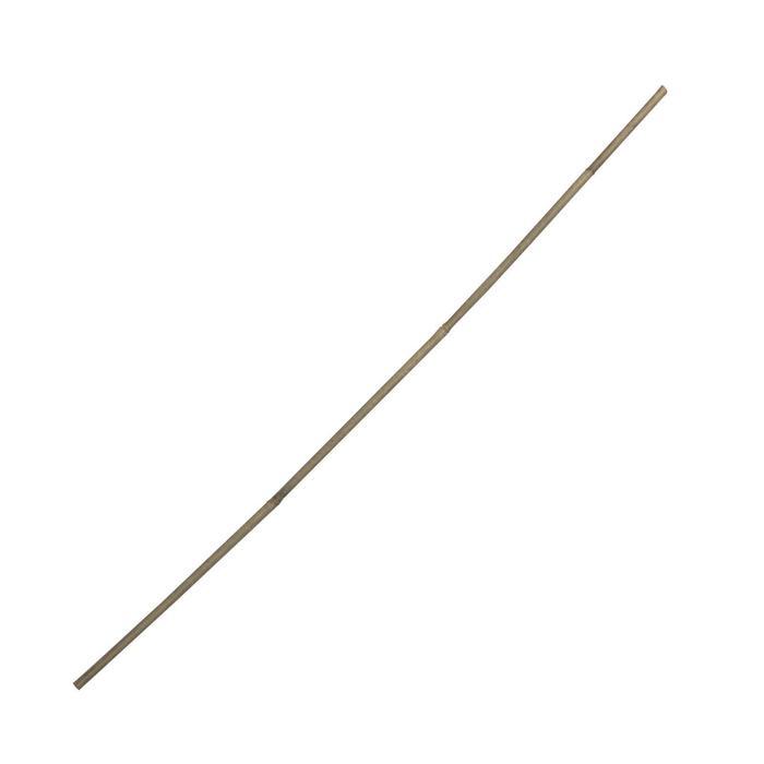 Колышек для подвязки растений, h = 75 см, ножка d = 0,8-1 см, бамбук