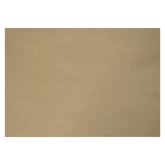 Крафт-бумага, 210 х 120 мм, 170 г/м?, коричневая