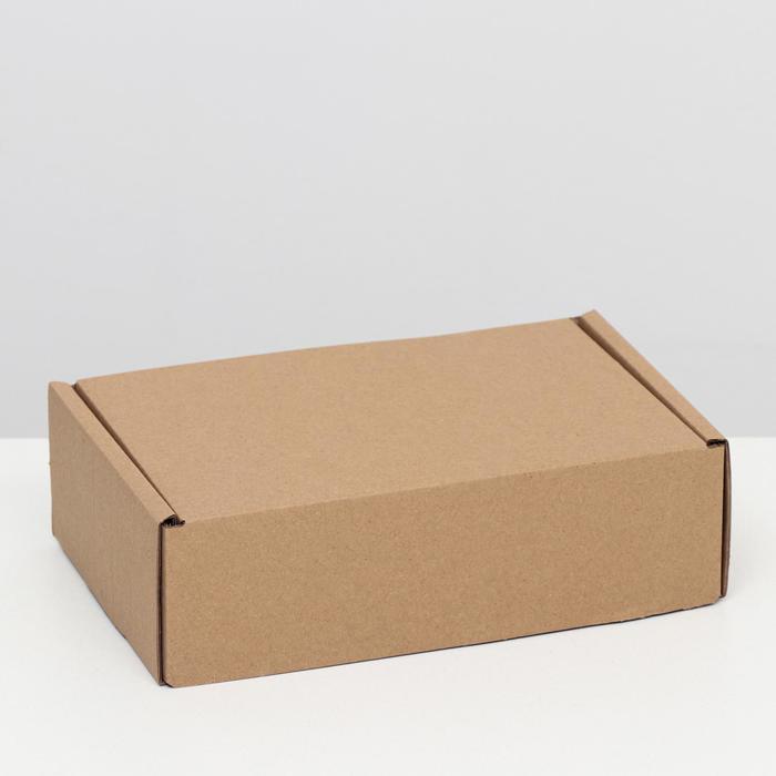 """Коробка самосборная """"Почтовая"""", бурая, 26 х 17 х 8 см,"""