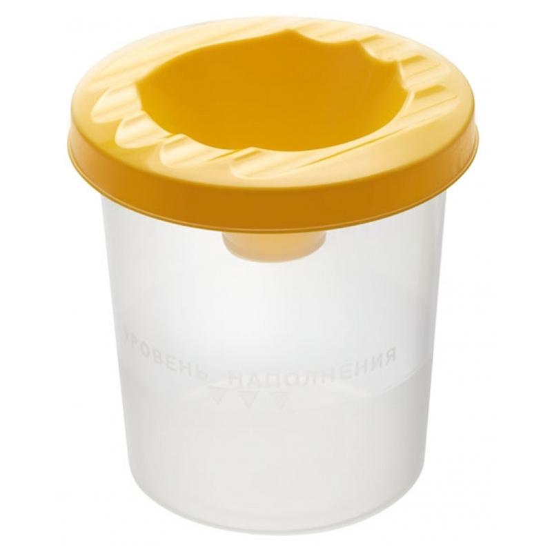 Стакан-непроливайка Стамм, желтый