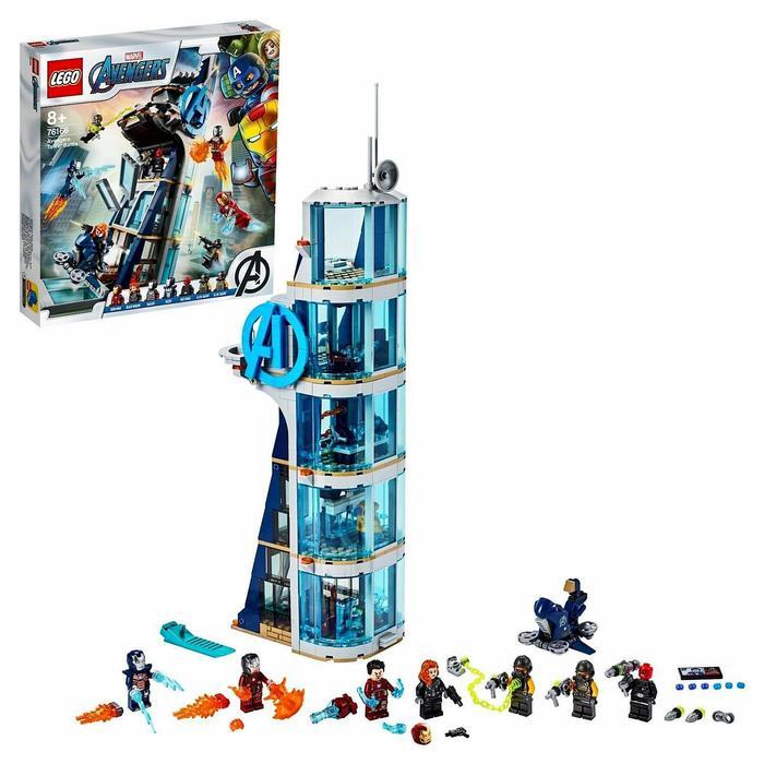Конструктор Super Heroes Marvel «Битва за башню Мстителей»