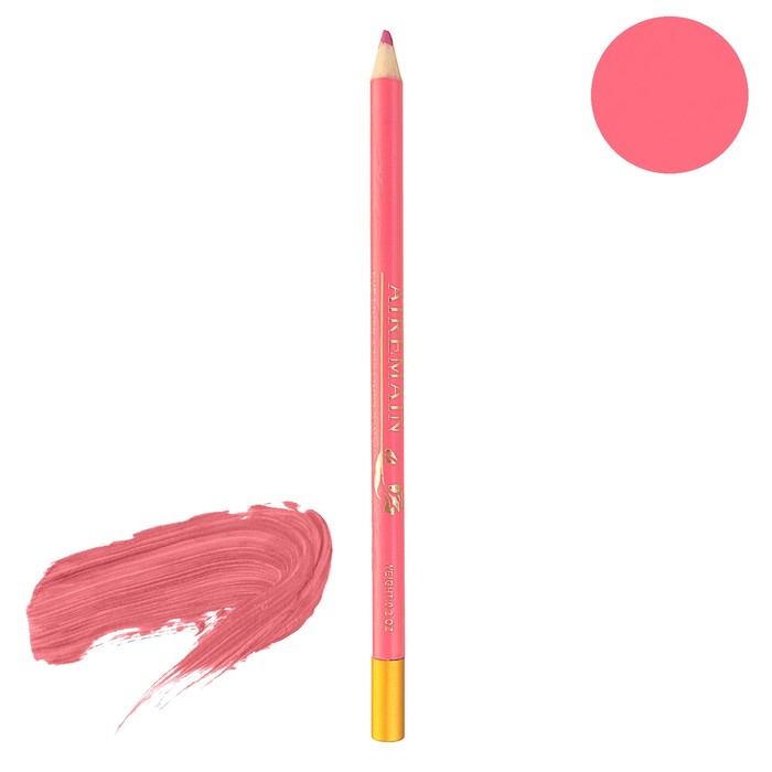 Карандаш Airemain, с точилкой, розовый № 44