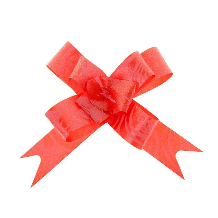 """Бант-бабочка №1,2 """"Розы"""", цвет красный"""