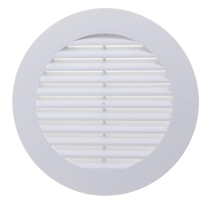 Решетка вентиляционная ERA 10 РК, круглая, d=100 мм