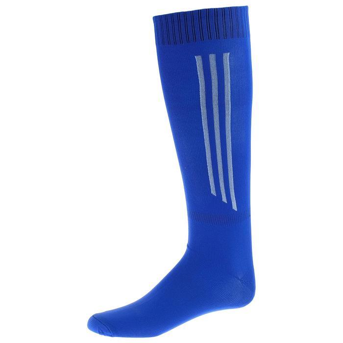 Гетры футбольные, взрослые, безразмерные, цвет синий