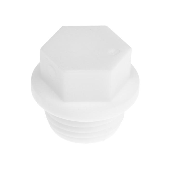 "Заглушка полипропиленовая VALFEX PRO, резьбовая, 20 мм х 1/2"""