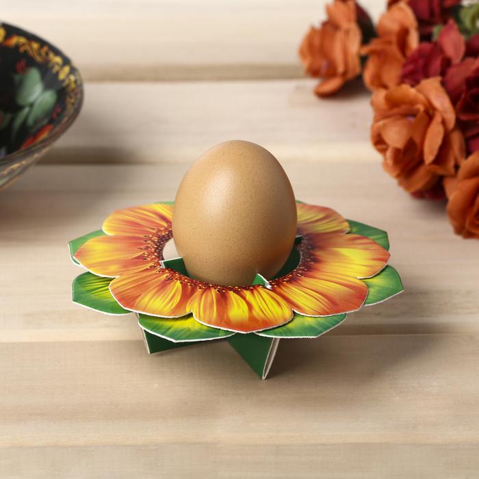 Подставка пасхальная на 1 яйцо «Цветок»
