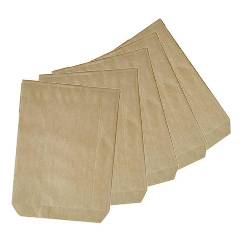 Пакеты для монет, комплект 100 шт., 175х110 мм, бумажные