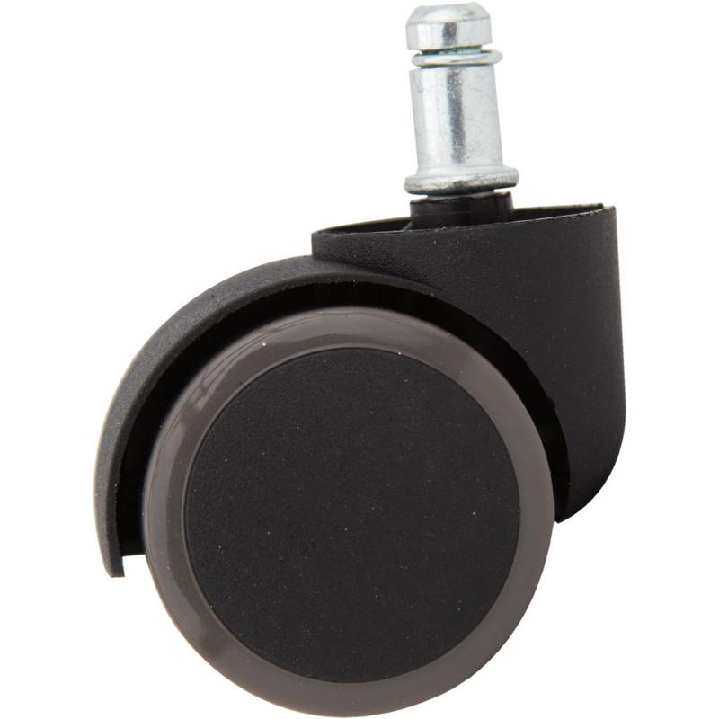 Набор колес для кресла BSL_5 шт, прорезиненные, шток 11 мм.