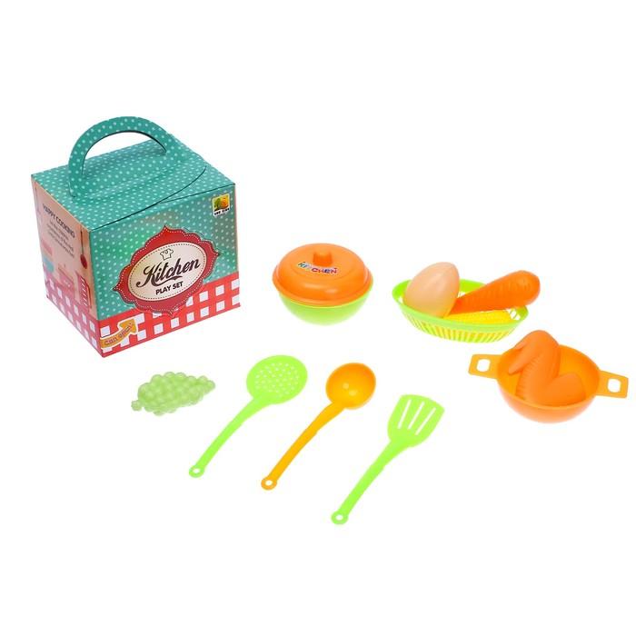 Игровой набор посуда «Хозяюшка», МИКС