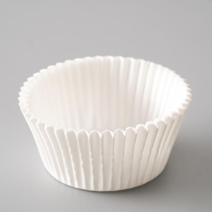 Форма для выпечки белая, 5 х 3 см