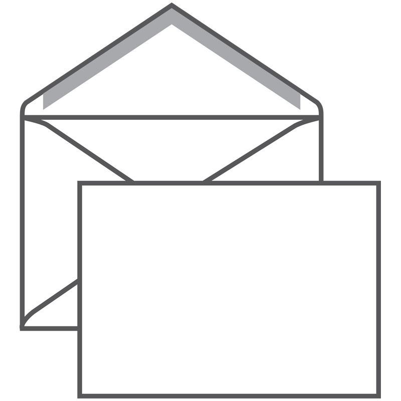 Конверт C6, Ряжская печатная фабрика, 114*162мм, б/подсказа, б/окна, кл. край