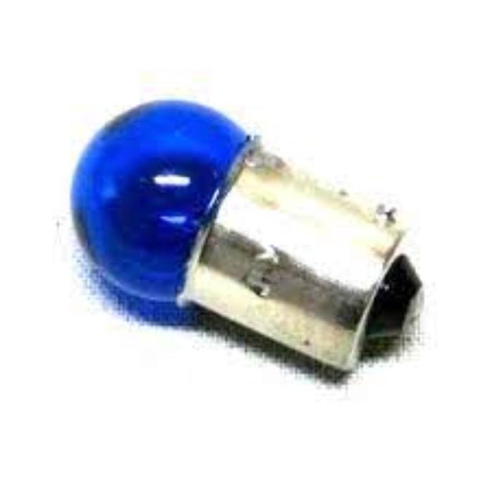 Лампа автомобильная Луч, BA15s, 12 В, 5 Вт, синяя