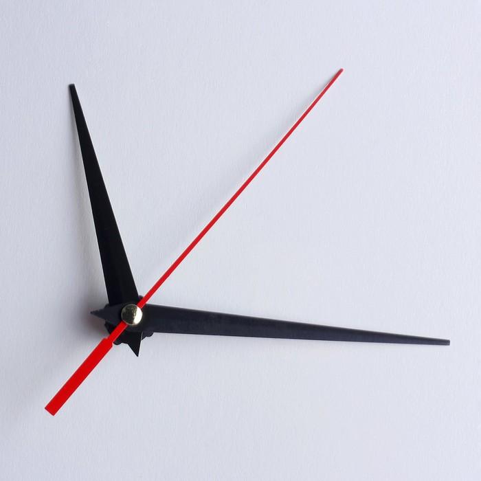Комплект из 3-х стрелок для часов чёрные 75/93/143 (фасовка 100 наборов)