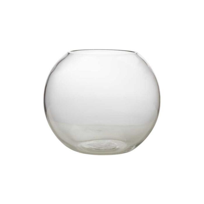 Ваза для цветов круглая Diamante, 19 см