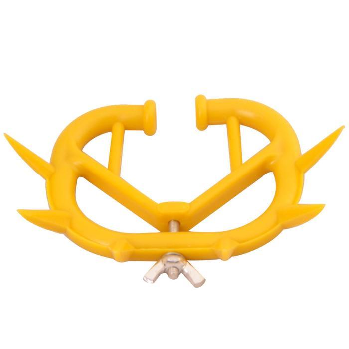Кольцо против самовыдаивания, 10,5х7,5 см, желтый