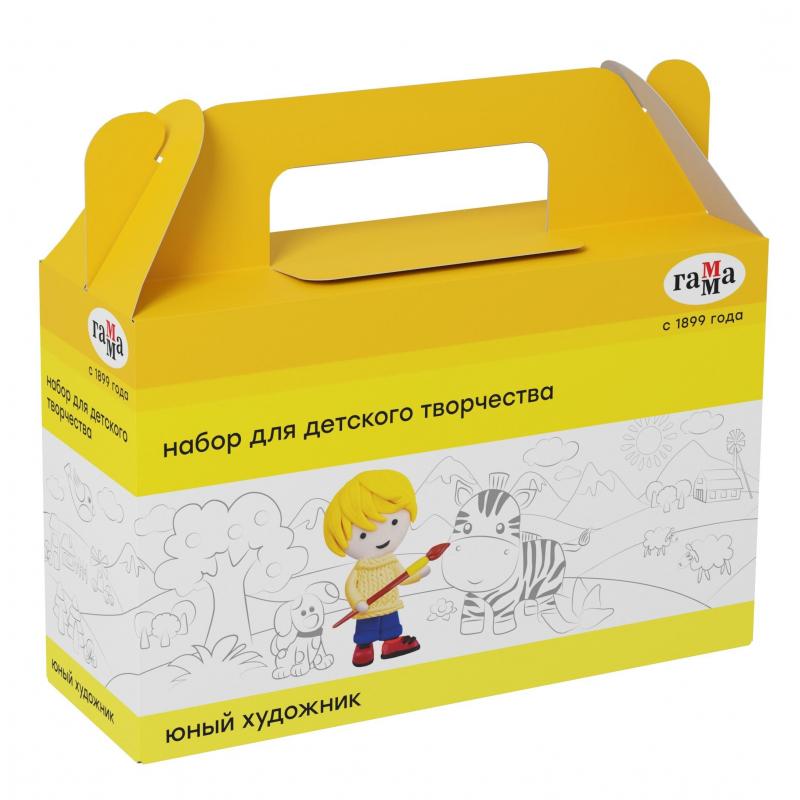 Набор для детского творчества Гамма Юный художник, 7 предметов, 270420204