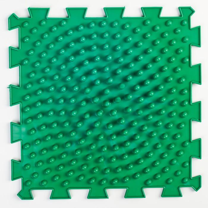 Детский массажный коврик 1 модуль «Жёсткие Шипы», цвет МИКС