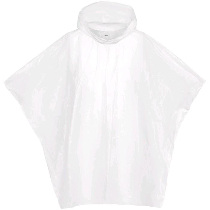 Дождевик-пончо RainProof, цвет белый