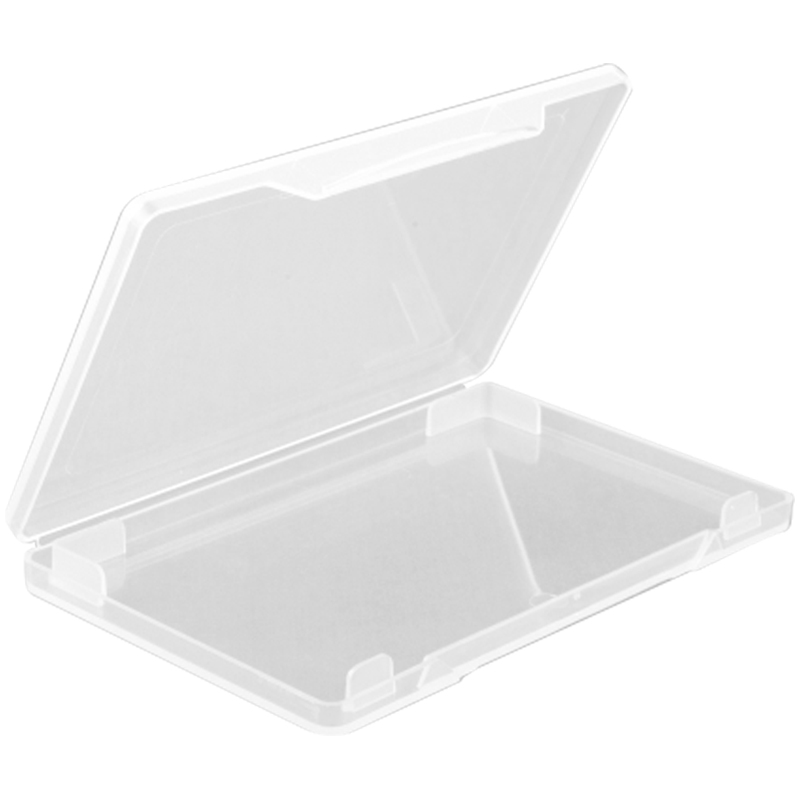 """Футляр для визиток и карт Стамм """"Card Box"""", 69*100*10мм, прозрачный"""