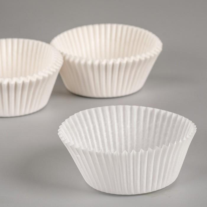 Форма для выпечки белая, 4,5 х 2,6 см
