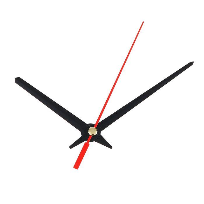 Комплект из 3-х стрелок для часов черные 60/80 (1098) (фасовка 100 наборов)