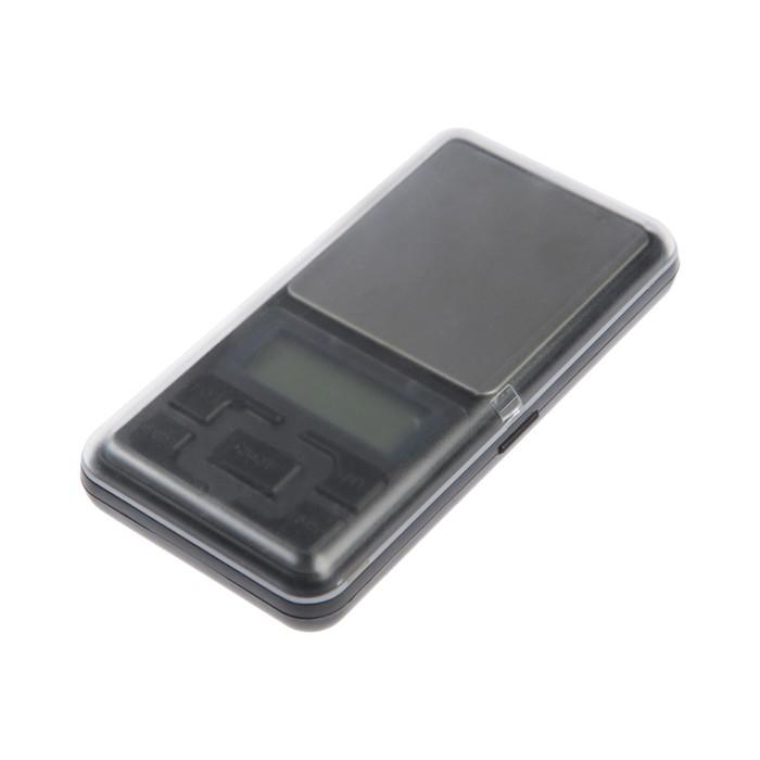 Весы LuazON LVU-02, портативные, электронные, до 200 г, серые