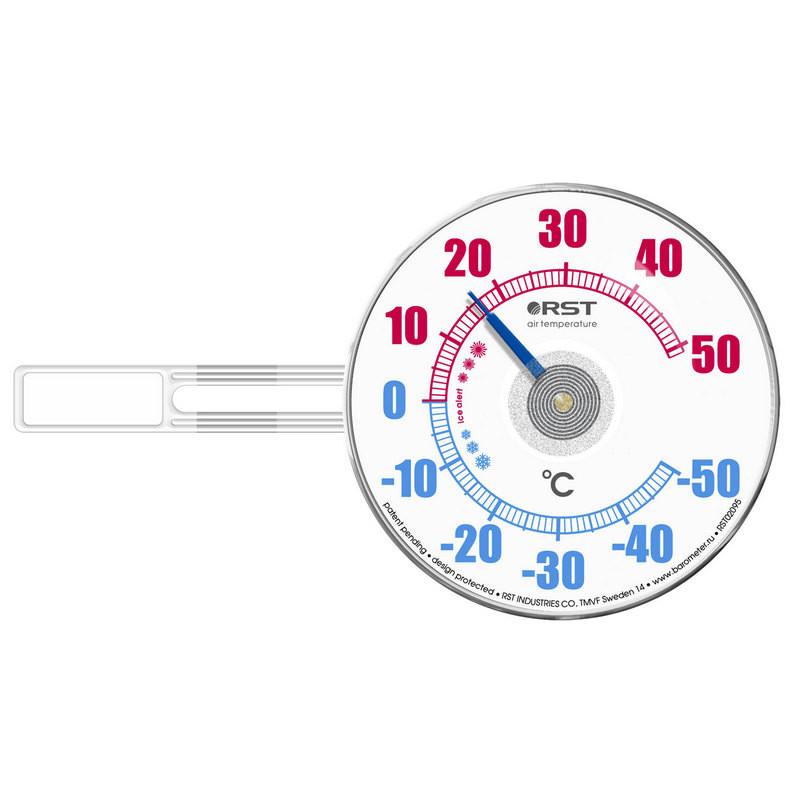 Термометр биметаллический на липучке RST02095