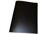 Папка с зажимом inФОРМАТ А4 черный пласт карман