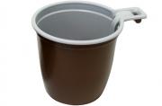 Чашка кор-бел. 180мл ИНТЕКО  (50шт) ПОС057/ЧАШ4547~~