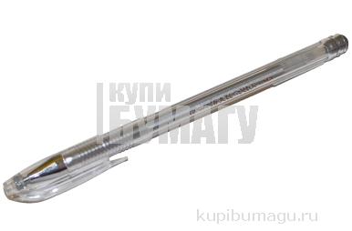 Ручка гель металлик серебр 0. 7/138мм CROWN HJR-500GSM