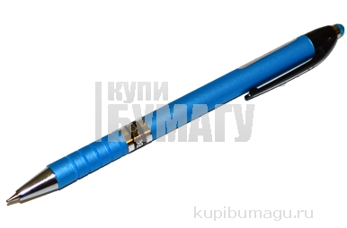 "Ручка автомат ""Color"" син 0. 7/102мм рез корп асс PIANO PB-165-C"