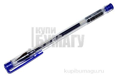 """Ручка гелевая """"Laconic"""" синяя 0. 7/129мм корпус прозрачный SILWERHOF 026160-01"""