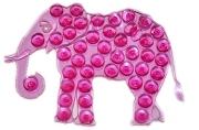 Мини-коврик для ванны «Слон», 9?12, 5 см, цвет МИКС