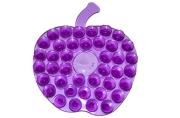 Мини-коврик для ванны «Яблоко», 8?8 см, цвет МИКС