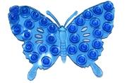 Мини-коврик для ванны «Ажурная бабочка», 9?12 см, цвет МИКС
