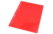 """Папка-вкладыш A4 0. 05 мм гладкая красная (в пакете) """"Herlitz"""""""